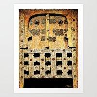 door Art Prints featuring Door by Saundra Myles