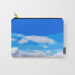 Whispy Sky Carry-All Pouch