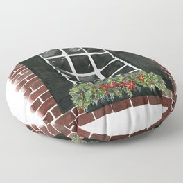 Old Town Window Floor Pillow