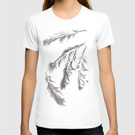 Crow Feather Study T-shirt