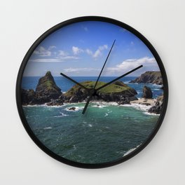 Spectacular Kynance Cove Wall Clock