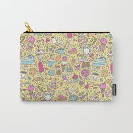 Sweet candy pattern (yellow) Carry-All Pouch