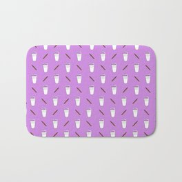 Double Cup & Blunt Allover Print Bath Mat