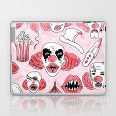 halloween clown pattern Laptop & iPad Skin