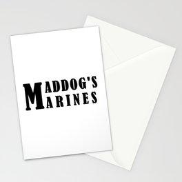 Maddog's Marines  Making America Safe again Stationery Cards
