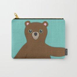Forest Bear Nursery Set Carry-All Pouch