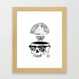 Go Travel Framed Art Print