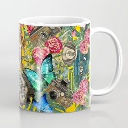tropical in yellow Coffee Mug