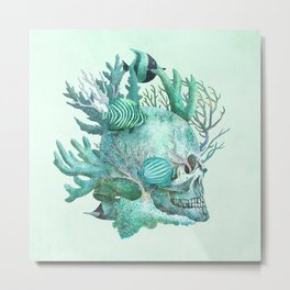Full Fathom Five  Metal Print