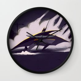The Darth Knight Wall Clock