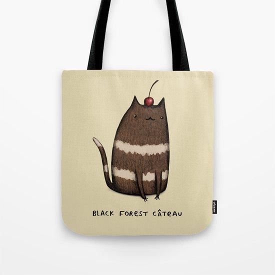 Black Forest Câteau Tote Bag
