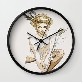For The Love Of Pink Wall Clock