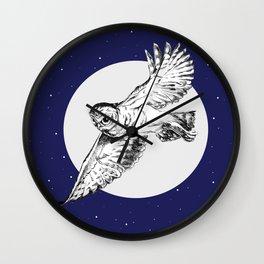 Athena Owl Wall Clock