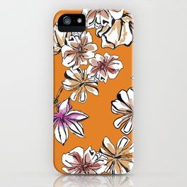 Pattern Floral iPhone Case