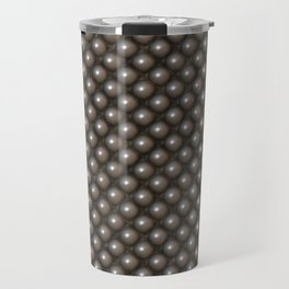 Shiny Metal Pearl Texture Travel Mug