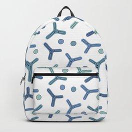Blue Antibodies 2 Backpack