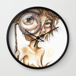 Gretchen,Victoria's cousin Wall Clock