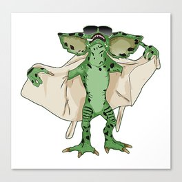 Gremlin Flasher Canvas Print