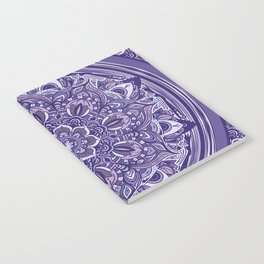 Great Purple Mandala Notebook