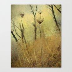 Skeletal Queens Canvas Print