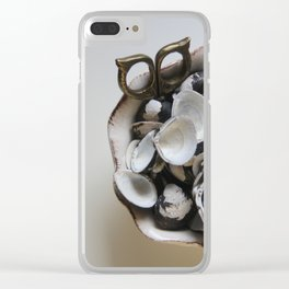 Shell Shocked Clear iPhone Case