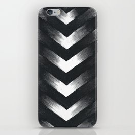 Charcoal Point iPhone Skin