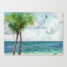 Peaceful Mexico Beach Canvas Print