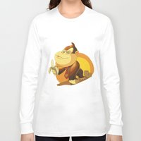 donkey kong Long Sleeve T-shirts featuring Kong by Rod Perich