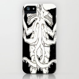 Kaiju twins in diapers iPhone Case