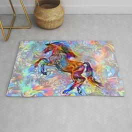 Polychrome Pony Rug
