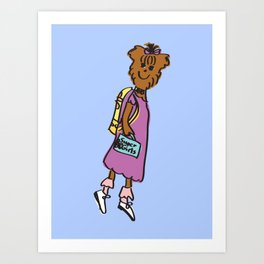 Buffy the Puppy Art Print