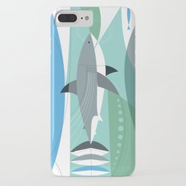 Keep Moving Forward (great White Shark) iPhone Case
