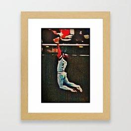 Willie Framed Art Print