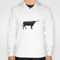 bull Hoodies featuring Bull by vogel