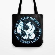 Go to sleep Tote Bag