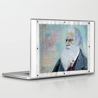 darwin Laptop & iPad Skins featuring Charles Darwin by Michael Cu Fua