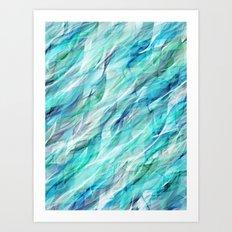 Seaweed Gauze Art Print