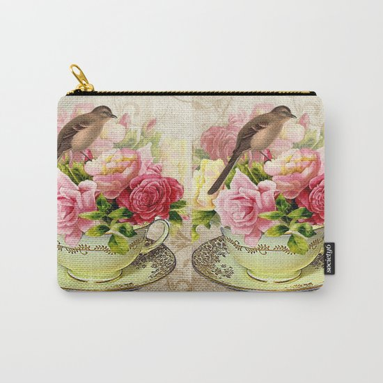 Tea flowers #3 Carry-All Pouch