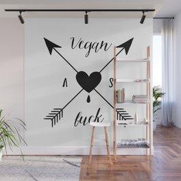Vegan bleeding heart Wall Mural