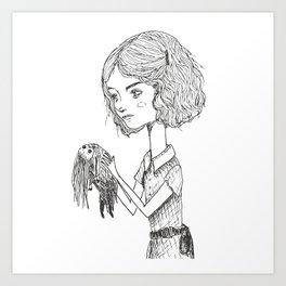 little dolls Art Print