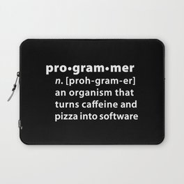 Programmer dictionary definition Laptop Sleeve