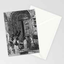 Porch of the Casa do Capitulo Stationery Cards