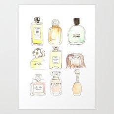 Parfums Art Print
