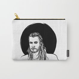 THOR - BLACK AND WHITE Carry-All Pouch