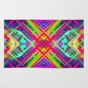 Marble Geometric Background G430 Rug By Medusa Graphicart