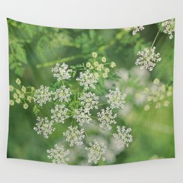 Garden Snowflakes  Wall Tapestry