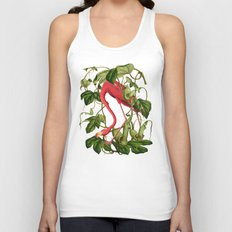 Flamingo Unisex Tank Top