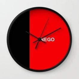 flag of paraiba Wall Clock