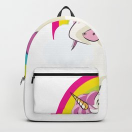 unicorns are born in July Backpack