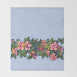 Amazing Azaleas Original Throw Blanket